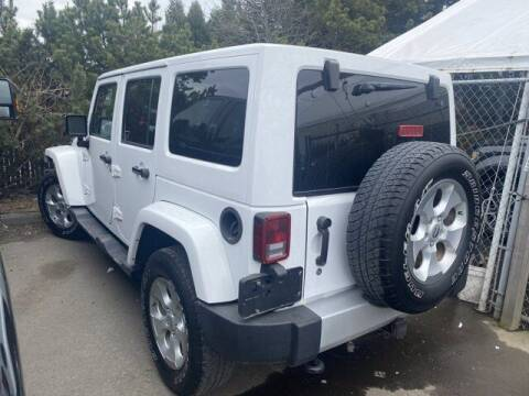 2014 Jeep Wrangler Unlimited for sale at S&S Best Auto Sales LLC in Auburn WA