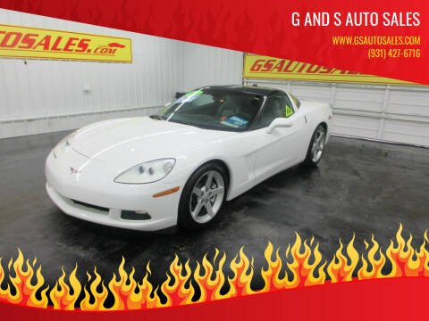 2005 Chevrolet Corvette for sale at G and S Auto Sales in Ardmore TN