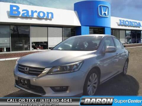 2015 Honda Accord for sale at Baron Super Center in Patchogue NY