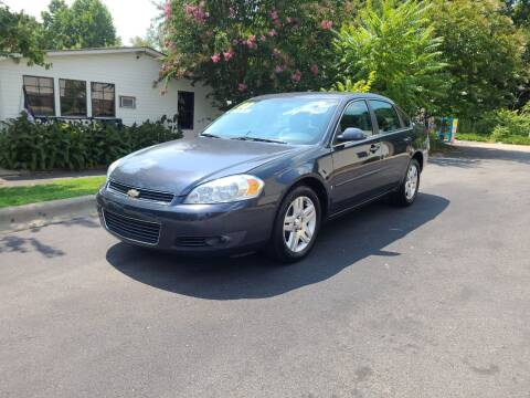 2008 Chevrolet Impala for sale at TR MOTORS in Gastonia NC