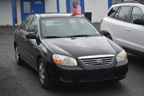 2008 Kia Spectra for sale at Noble PreOwned Auto Sales in Martinsburg WV