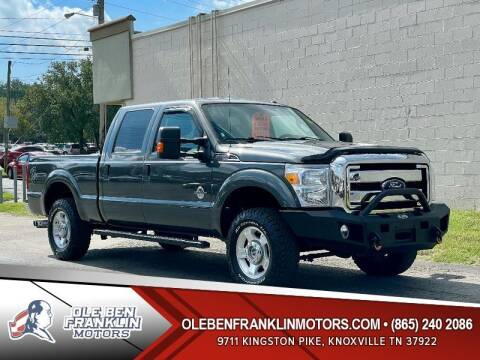 2016 Ford F-250 Super Duty for sale at Ole Ben Franklin Motors Clinton Highway in Knoxville TN