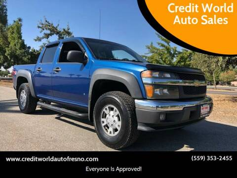 2006 Chevrolet Colorado for sale at Credit World Auto Sales in Fresno CA