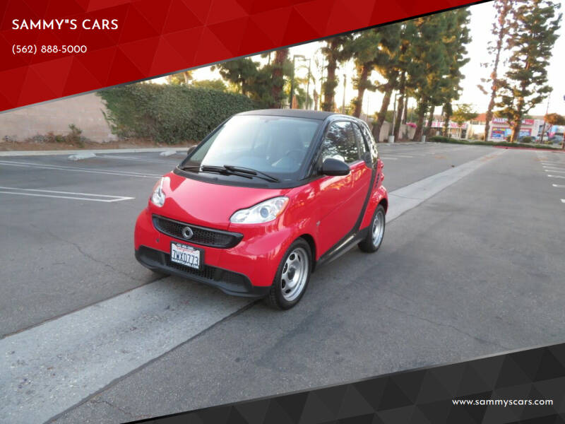 """2013 Smart fortwo for sale at SAMMY""""S CARS in Bellflower CA"""