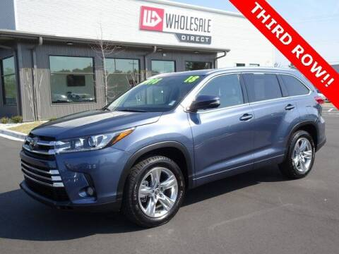 2018 Toyota Highlander for sale at Wholesale Direct in Wilmington NC