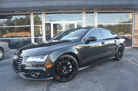 2012 Audi A7 for sale at Amyn Motors Inc. in Tucker GA