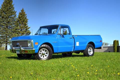 1972 Chevrolet C/K 20 Series for sale at Hooked On Classics in Watertown MN