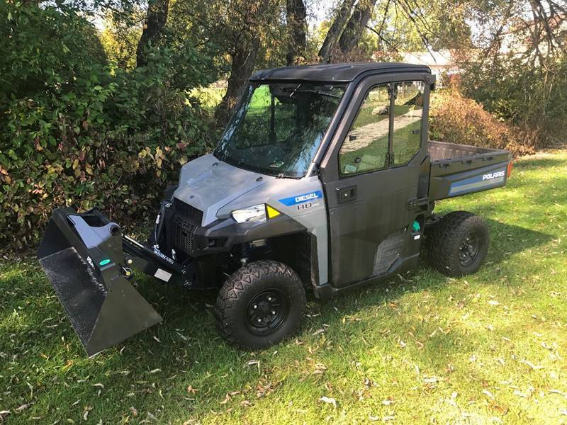 2017 Polaris Brutus HD PTO for sale at Jim's Golf Cars & Utility Vehicles - Reedsville Lot in Reedsville WI