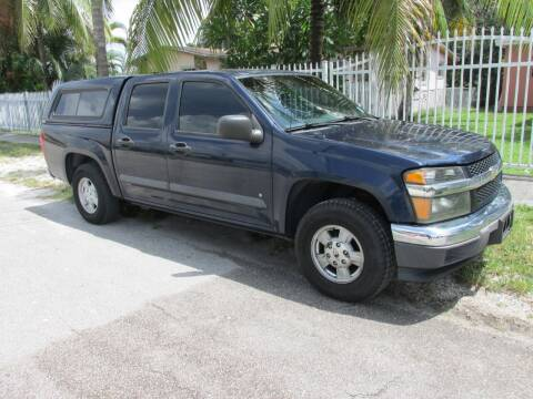2007 Chevrolet Colorado for sale at TROPICAL MOTOR CARS INC in Miami FL