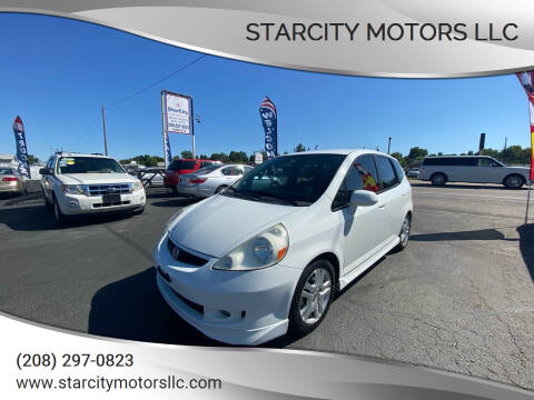 2007 Honda Fit for sale at StarCity Motors LLC in Garden City ID