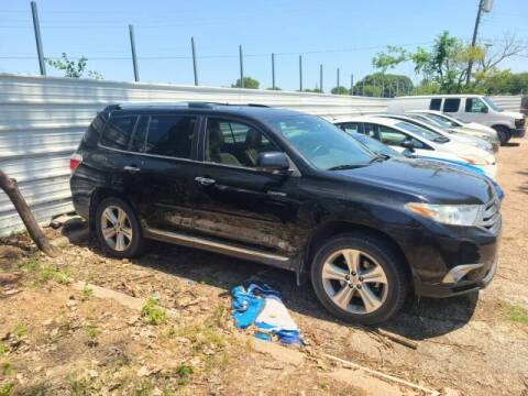 2013 Toyota Highlander for sale at Bad Credit Call Fadi in Dallas TX