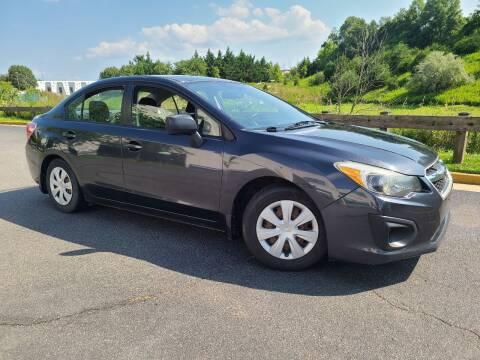 2012 Subaru Impreza for sale at Lexton Cars in Sterling VA