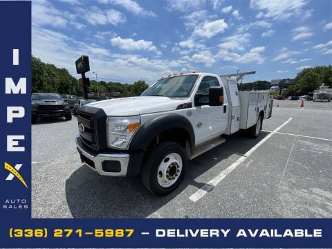 2012 Ford F-550 Super Duty for sale at Impex Auto Sales in Greensboro NC