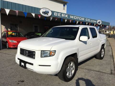 2006 Honda Ridgeline for sale at Berk Motor Co in Whitehall PA