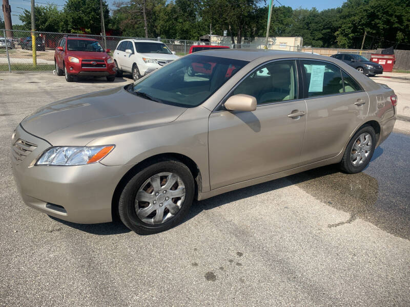 2008 Toyota Camry for sale at CARPLEX MOTORS in Houston TX
