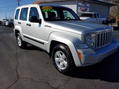 2012 Jeep Liberty for sale at Moores Auto Sales in Greeneville TN