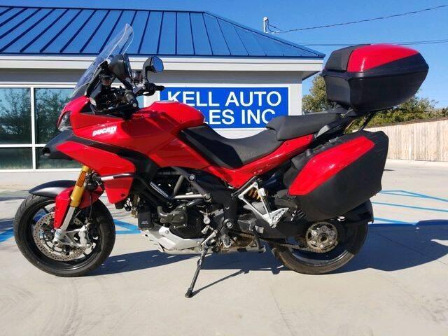 2012 Ducati Multistrada 1200 S for sale at Kell Auto Sales, Inc in Wichita Falls TX