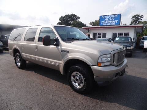 2004 Ford Excursion for sale at Surfside Auto Company in Norfolk VA