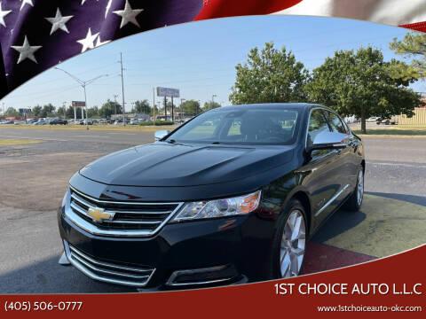 2014 Chevrolet Impala for sale at 1st Choice Auto L.L.C in Oklahoma City OK