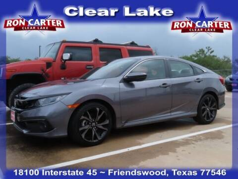 2019 Honda Civic for sale at Ron Carter  Clear Lake Used Cars in Houston TX