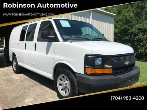 2014 Chevrolet Express Cargo for sale at Robinson Automotive in Albemarle NC