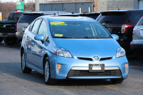 2012 Toyota Prius Plug-in Hybrid for sale at MetroWest Auto Sales in Worcester MA