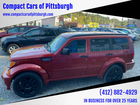 2007 Dodge Nitro for sale at Compact Cars of Pittsburgh in Pittsburgh PA