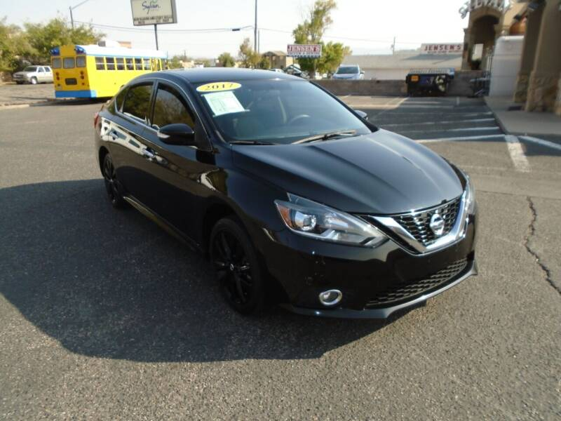 2017 Nissan Sentra for sale at Team D Auto Sales in St George UT