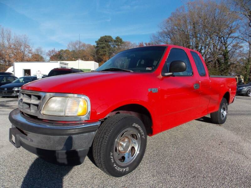 1998 Ford F-150 for sale at Deer Park Auto Sales Corp in Newport News VA
