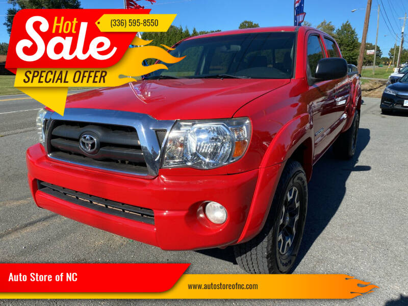 2007 Toyota Tacoma for sale at Auto Store of NC in Walkertown NC