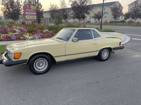 1979 Mercedes-Benz 450 SL for sale at Classic Car Deals in Cadillac MI