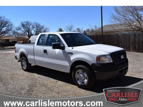 2008 Ford F-150 for sale at Carlisle Motors in Lubbock TX