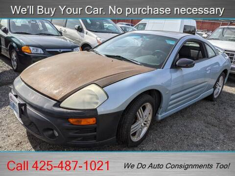 2003 Mitsubishi Eclipse for sale at Platinum Autos in Woodinville WA
