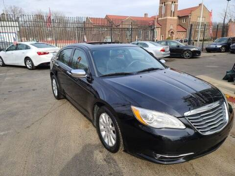 2014 Chrysler 200 for sale at G & R Auto Sales in Detroit MI