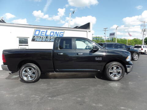 2018 RAM Ram Pickup 1500 for sale at DeLong Auto Group in Tipton IN