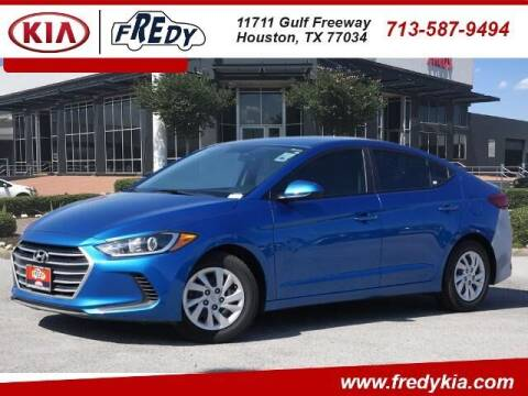 2018 Hyundai Elantra for sale at FREDY KIA USED CARS in Houston TX