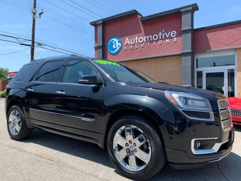 2014 GMC Acadia for sale at Automotive Solutions in Louisville KY