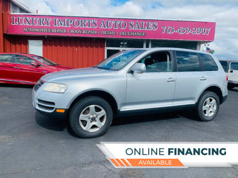 2006 Volkswagen Touareg for sale at LUXURY IMPORTS AUTO SALES INC in North Branch MN
