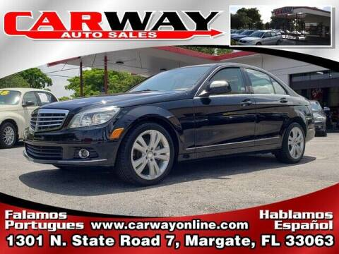 2008 Mercedes-Benz C-Class for sale at CARWAY Auto Sales in Margate FL