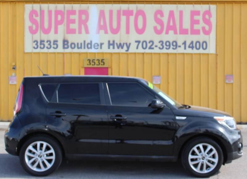 2017 Kia Soul for sale at Super Auto Sales in Las Vegas NV
