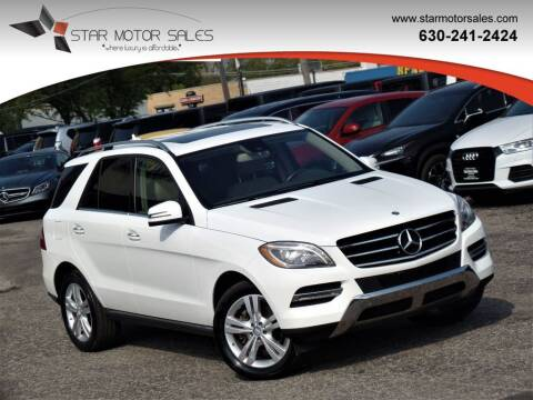 2014 Mercedes-Benz M-Class for sale at Star Motor Sales in Downers Grove IL