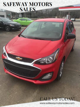 2019 Chevrolet Spark for sale at Safeway Motors Sales in Laurinburg NC