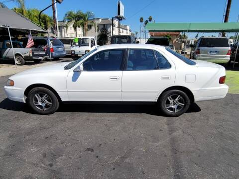 1996 Toyota Camry for sale at Pauls Auto in Whittier CA