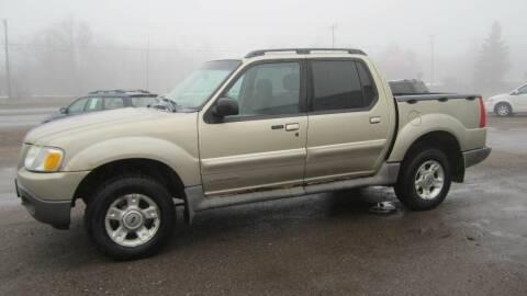 2002 Ford Explorer Sport Trac for sale at Superior Auto of Negaunee in Negaunee MI
