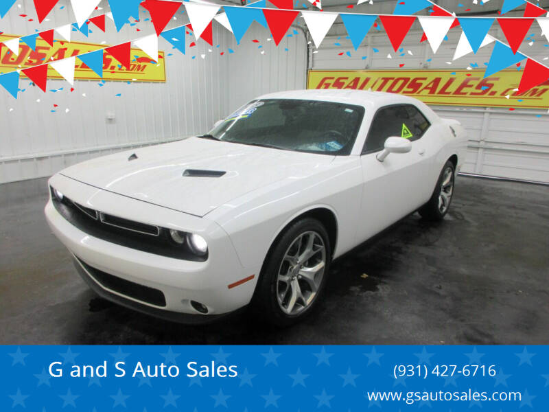 2015 Dodge Challenger for sale at G and S Auto Sales in Ardmore TN