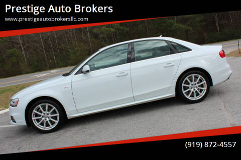 2014 Audi A4 for sale at Prestige Auto Brokers in Raleigh NC
