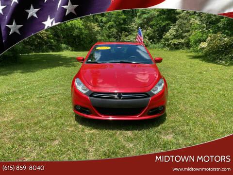 2013 Dodge Dart for sale at Midtown Motors in Greenbrier TN