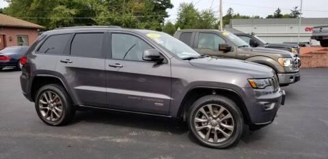 2016 Jeep Grand Cherokee for sale at R C Motors in Lunenburg MA