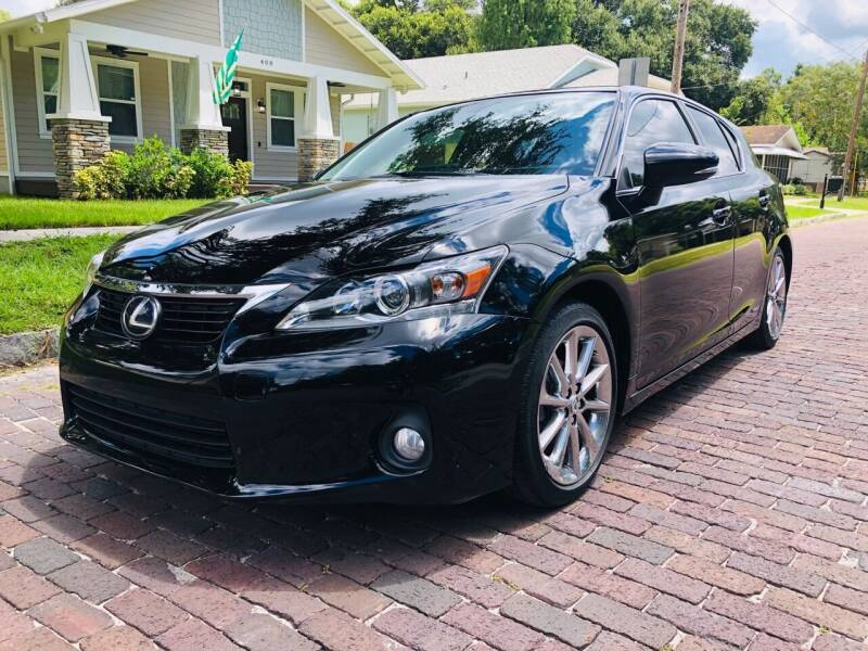 2013 Lexus CT 200h for sale at CHECK  AUTO INC. in Tampa FL