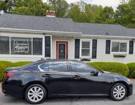 2014 Lexus GS 350 for sale at SIGNATURES AUTOMOTIVE GROUP LLC in Spartanburg SC